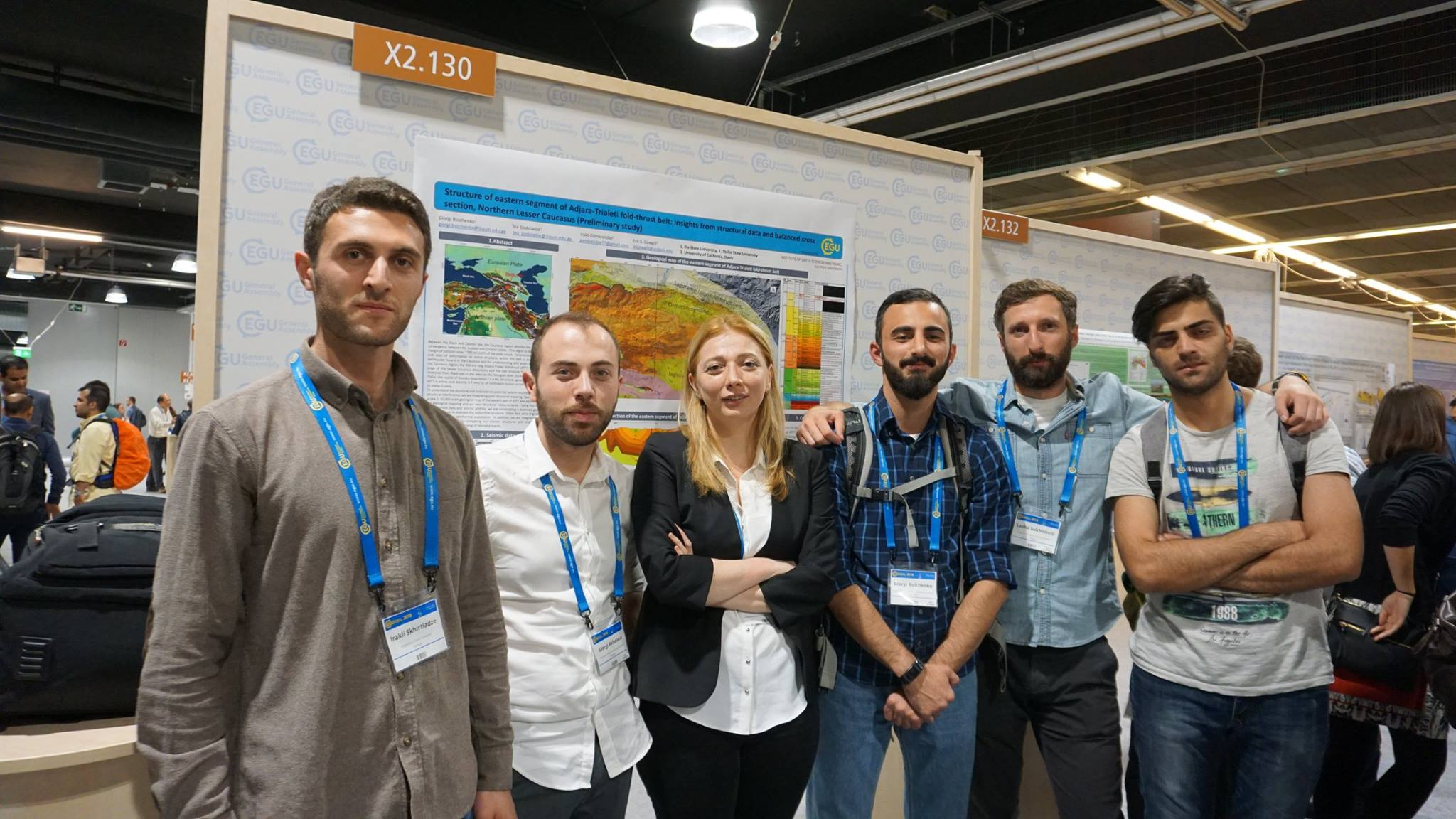 EGU- EUROPEAN GEOSCIENCES UNION GENERAL ASSEMBLY 2018