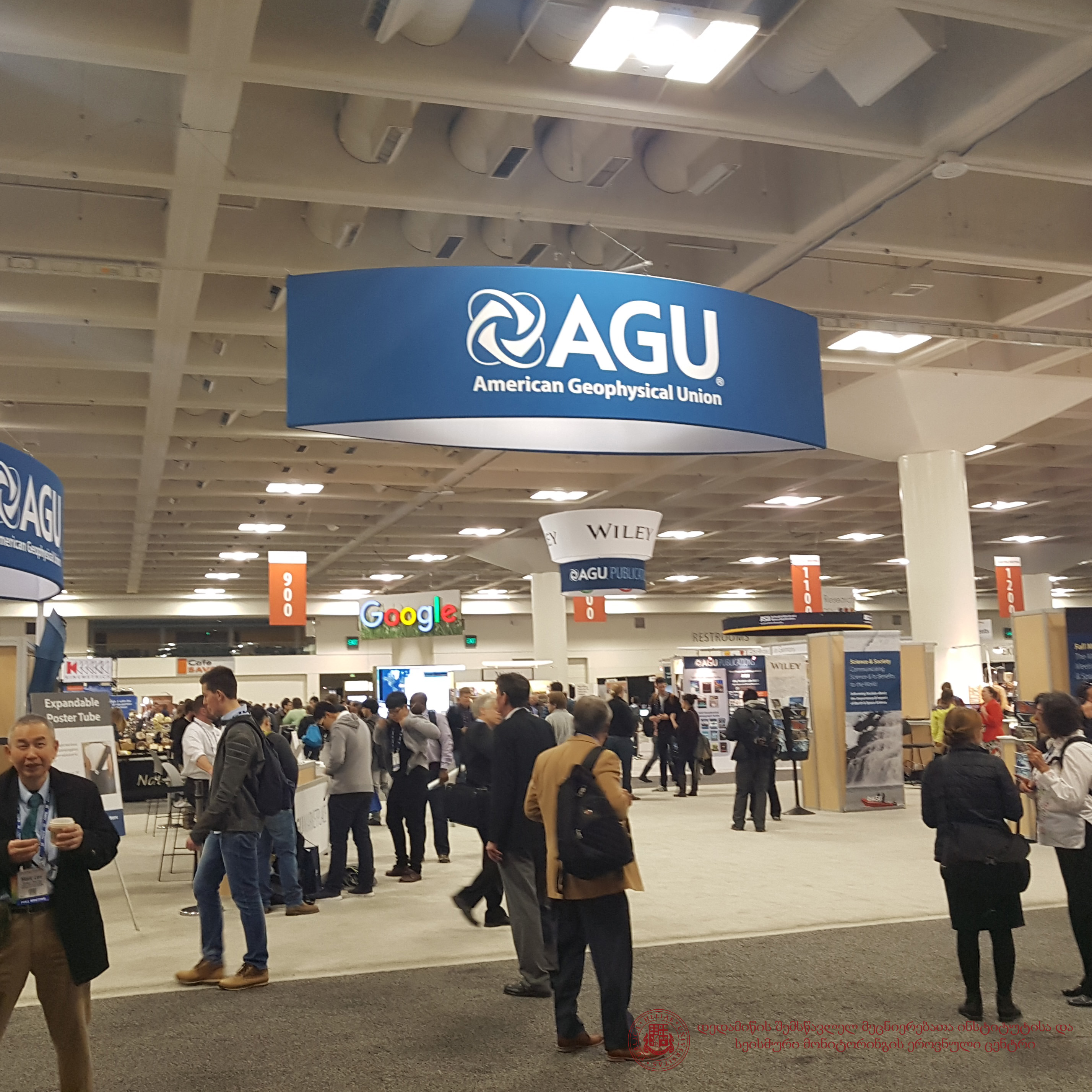 AGU-AMERICAN GEOPHYSICAL UNION  2016